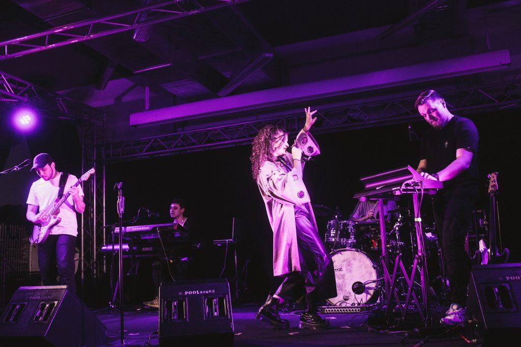RIIVA Live in Mannheim an der Popakademie